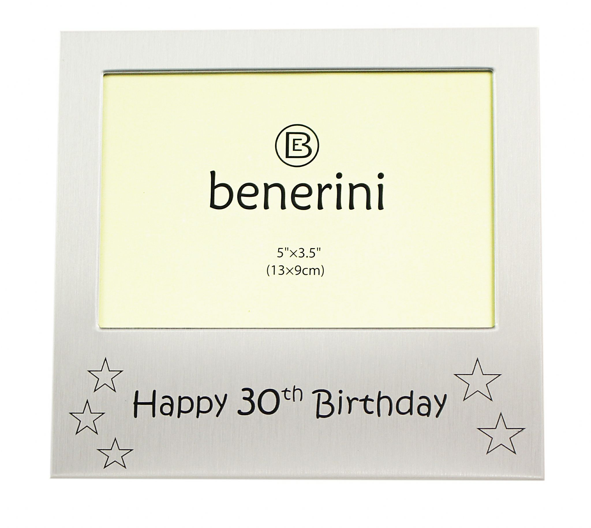 Happy 30th Birthday - Photo Frame Gift - Photo Size 5 x 3.5 Inches ...